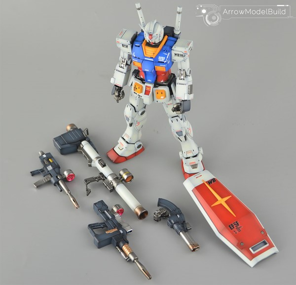 Picture of Gundam The Origin Built & Painted MG 1/100 Model Kit