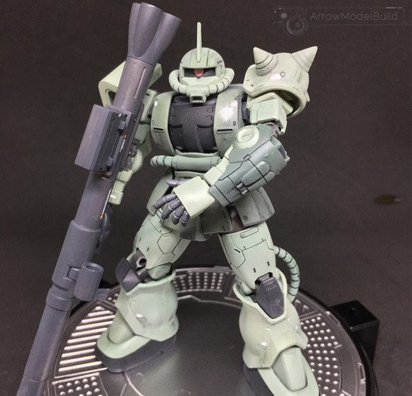 Picture of Zaku Type C/ C-5 Built & Painted HG 1/144 Model Kit - Weathering