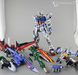 Picture of Perfect Strike Gundam & Sky Grasper Built & Painted PG 1/60