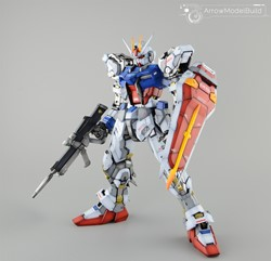 Picture of Aile Strike & Sky Grasper Gundam Built & Painted PG 1/60
