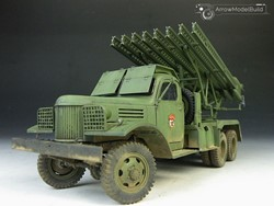 Picture of BM-13 Katjusha Built & Painted 1/35 Model Kit