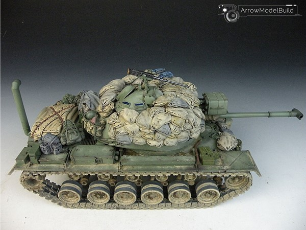 Picture of M48A3 Patton Medium Tank Built & Painted 1/35 Model Kit