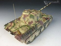 Picture of  Panther A Tank with Zimmerit Full Interior) Built & Painted 1/35 Model Kit