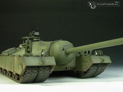 Picture of  T-95 Heavy Tank Built & Painted 1/35 Model Kit