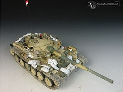 Picture of T-72 (Ural) Main Battle Tank with Custom Built & Painted 1/35 Model Kit