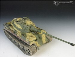 Picture of King Tiger Octopus Pattern Camouflage Tank Built & Painted 1/35 Model Kit