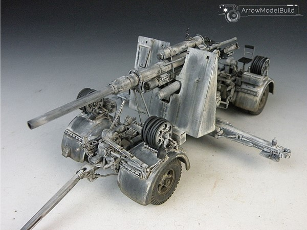 Picture of 88mm Gun Flak 36/37  Built & Painted 1/35 Model Kit