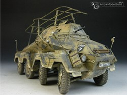 Picture of Sd.Kfz.263 Military Vehicle Built & Painted 1/35 Model Kit