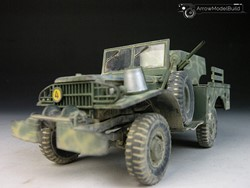 Picture of  M6 GMC WC-55 MilitaryVehicle Built & Painted 1/35 Model Kit