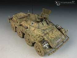 Picture of SdKfz 234-1 Military Vehicle Built & Painted 1/35 Model Kit