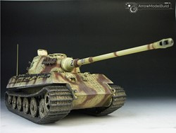 Picture of  King Tiger Heavy Tank (Full Interior) Built & Painted 1/35 Model Kit