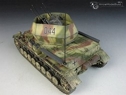Picture of Flakpanzer IV Wirbelwind Tank Built & Painted 1/35 Model Kit