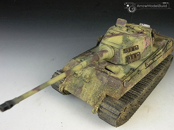 Picture of King Tiger Heavy Tank (Full Interior) Forest Built & Painted 1/35 Model Kit