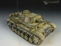 Picture of Panzer 3  Built & Painted 1/35 Model Kit