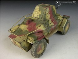 Picture of 39M Armored Car Built & Painted 1/35 Model Kit