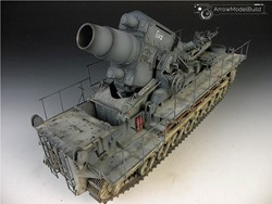 Picture of Karl Heavy Mortar Built & Painted 1/35 Model Kit