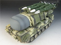 Picture of 9K37 Missile System Built & Painted 1/35 Model Kit