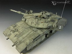 Picture of Merkava MK.IIID Tank Built & Painted 1/35 Model Kit