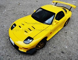 Picture of Initial D RX-7 FD3S Built & Painted Vehicle Car 1/24 Model Kit