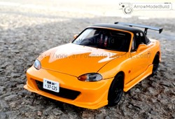 Picture of Initial D  MX-5 NB8C Built & Painted Vehicle Car 1/24 Model Kit