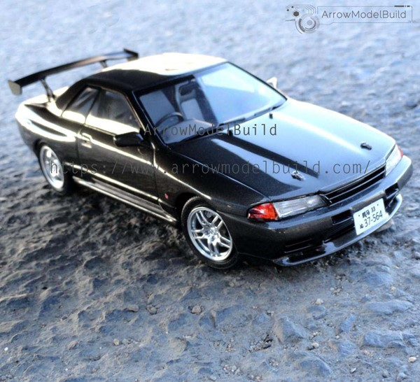 Picture of Initial D R32 Built & Painted Vehicle Car 1/24 Model Kit