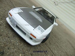Picture of Initial D FC3S RX-7 Built & Painted Vehicle Car 1/24 Model Kit