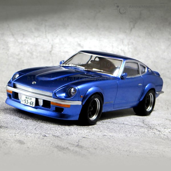 Picture of Nissan Fairlady 240Z (Wanagan Midnight) Built & Painted Vehicle Car 1/24 Model Kit