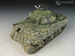Picture of ShermanTank Sandbag Hull Built & Painted 1/35 Model Kit