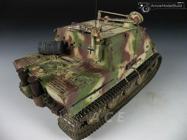 Picture of Sturmtiger Tank Built & Painted 1/35 Model Kit