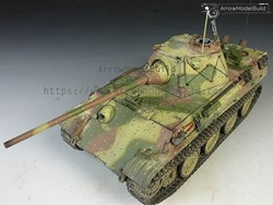 Picture of Panther F Tank (Abush Camouflage) Built & Painted 1/35 Model Kit