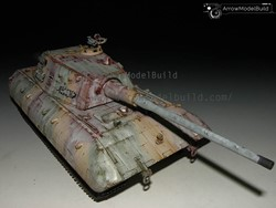 Picture of E100 Tank (In the Snow) Built & Painted 1/35 Model Kit