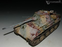 Picture of Panther F Tank Built & Painted 1/35 Model Kit