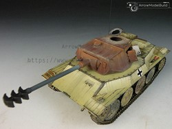 Picture of Panzer 38D Tank Built & Painted 1/35 Model Kit