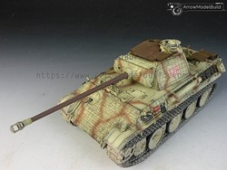 Picture of Panther G with Zimmerit Tank Built & Painted 1/35 Model Kit