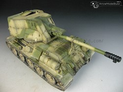 Picture of T34-122 Tank Built & Painted 1/35 Model Kit