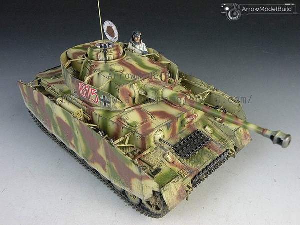 Picture of Panzer IV Tank Built & Painted 1/35 Model Kit