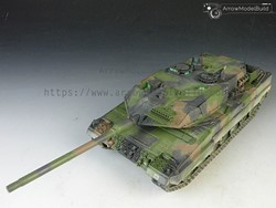 Picture of Panzer Leopard 2A6 Tank Built & Painted 1/35 Model Kit