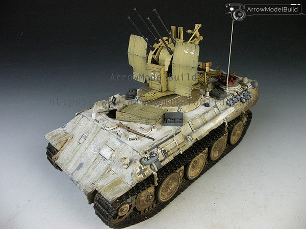 Picture of Flakpanzer IV Mobelwagen Built & Painted 1/35 Model Kit