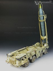 Picture of Lanuncher with R17 Rocket of 9K72 (Scud B) Built & Painted 1/35 Model Kit
