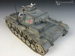 Picture of Panzer III Tank Ausf. H Built & Painted 1/35 Model Kit