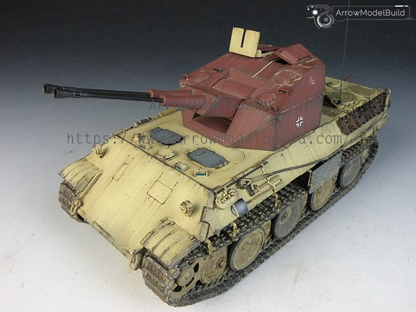 Picture of Flakpanzer V Coelian Tank Built & Painted 1/35 Model Kit