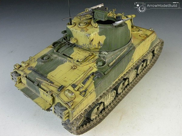 Picture of M4A3 Sherman Tank Built & Painted 1/35 Model Kit