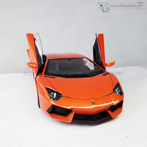 Picture of Lamborghini LP700 Custom Color (Flame Orange) 1/24 Model Kit