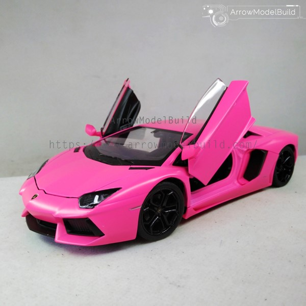 Picture of Lamborghini LP700 Custom Color (Barbie Powder) 1/24 Model Kit