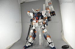 Picture of Nu Gundam Built & Painted 1/48 Model Kit