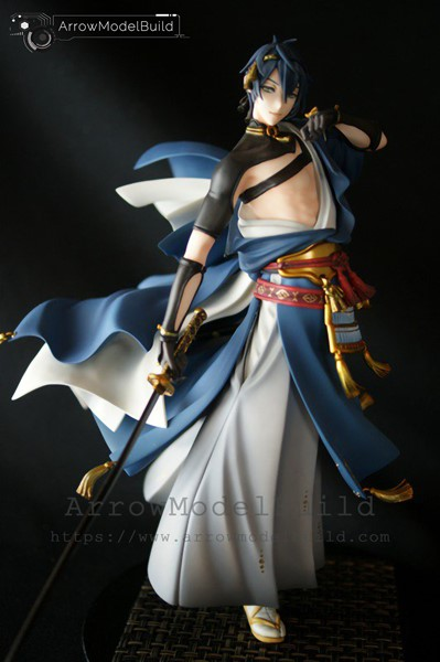 Picture of ArrowModelBuild Touken Ranbu Mikazuki Munechika Built & Painted Resin Figure