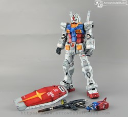Picture of ArrowModelBuild Gundam RX-78-2 (Special Coding) Built & Painted PG Unleashed 1/60 Model Kit