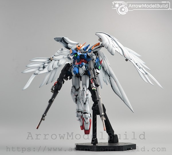 Picture of ArrowModelBuild Wing Gundam Zero EW ver Ka (Advanced Paint) Built & Painted MG 1/100 Model Kit
