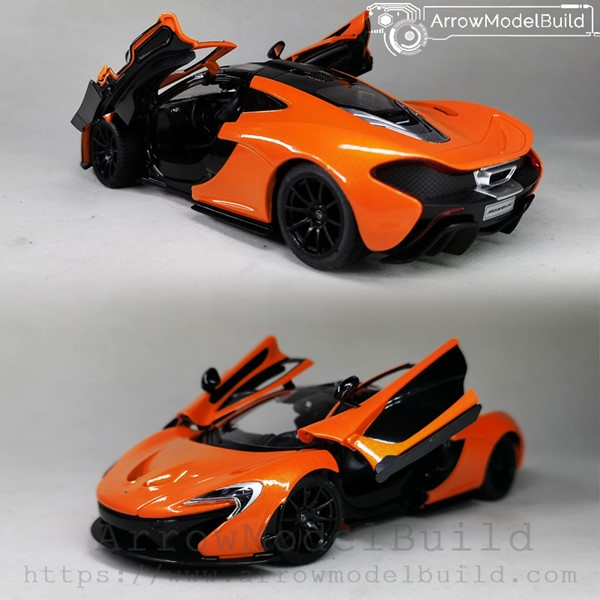 Picture of ArrowModelBuild McLaren 675LT Custom Color (Orange) 1/24 Model Kit