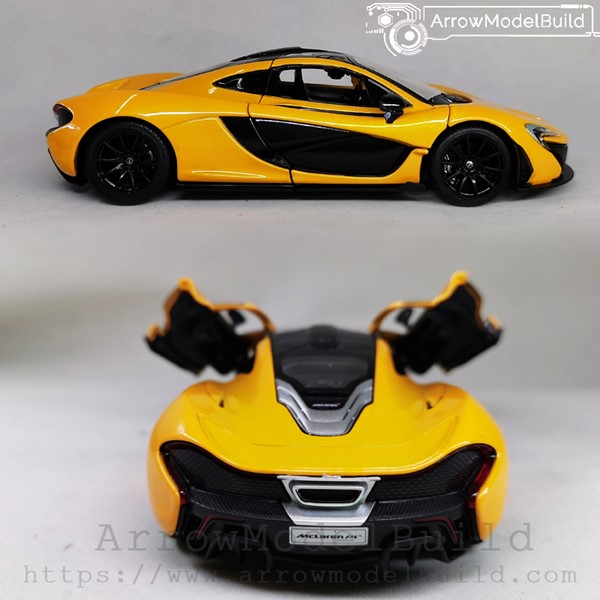 Picture of ArrowModelBuild McLaren 675LT Custom Color (Pearl Yellow) 1/24 Model Kit